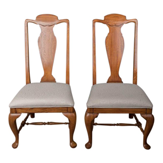 Lexington Furniture Dining Chairs - a Pair For Sale