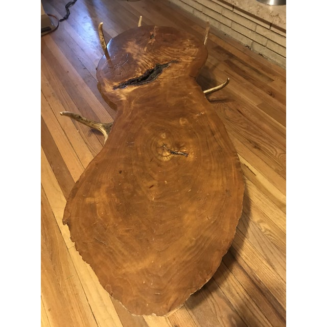 Vintage Handmade Coffee Table For Sale - Image 4 of 10