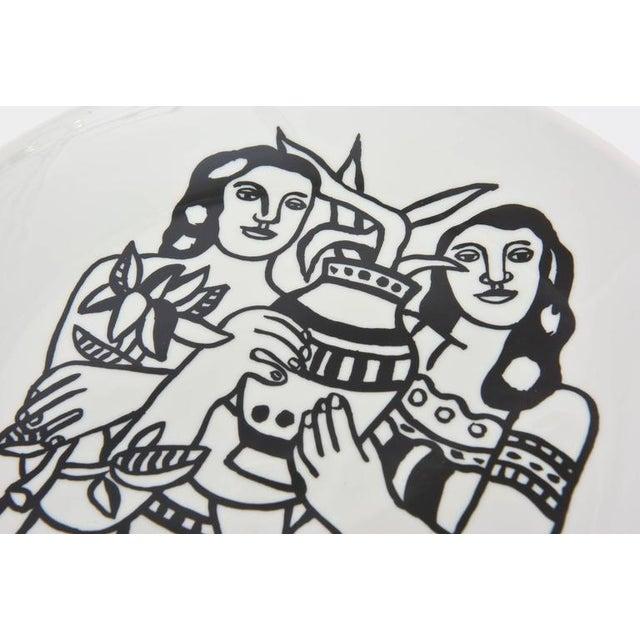 After Fernand Leger Porcelain Plate For Sale - Image 4 of 8
