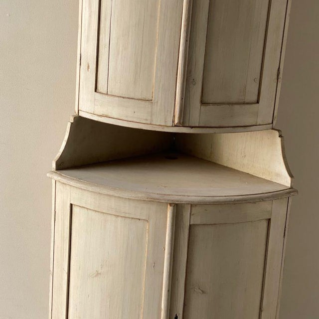 Antique Gustavian Corner Cabinet For Sale In West Palm - Image 6 of 13