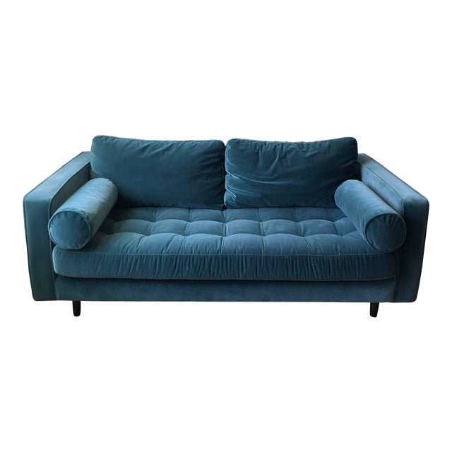 Article Sven Pacific Blue Sofa