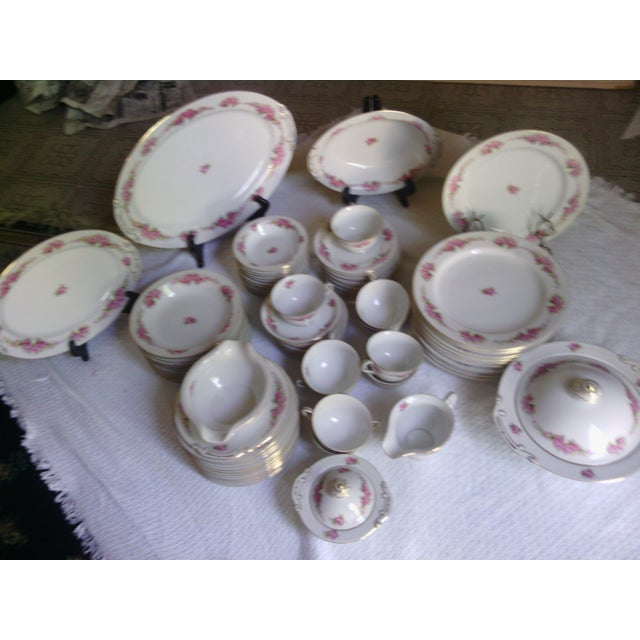 Orion Fine China Dinnerware Set - 89 Pieces - Image 4 of 11