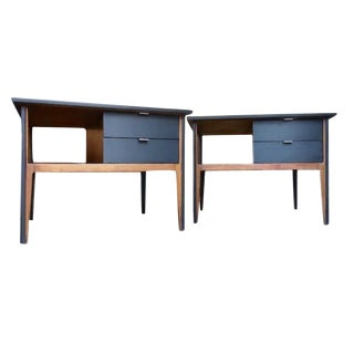1960s Mid-Century Modern End Tables or Nightstands - a Pair For Sale