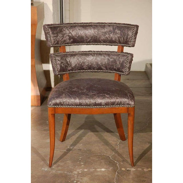 Modern Paul Marra Klismos Style Chair For Sale - Image 3 of 8