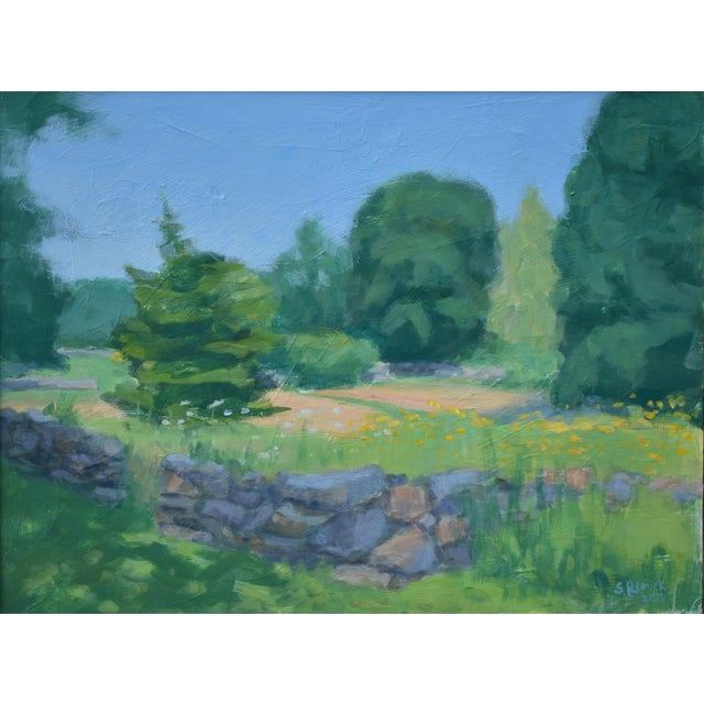 Coastal Pastoral Plein Air Contemporary Paintings by Stephen Remick - Set of 3 For Sale - Image 3 of 13
