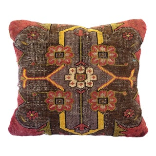 Vintage Turkish Throw Pillow For Sale