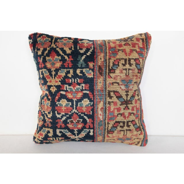 Antique Caucasian Rug Pillow For Sale - Image 9 of 9