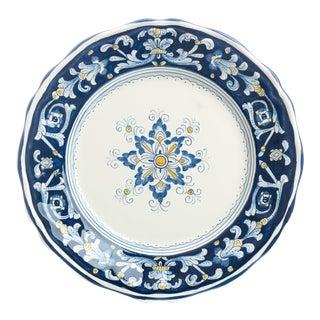 Dinner Plate, Full Design, Antico Deruta For Sale