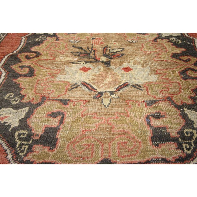 Contemporary 20th Century Turkish Oushak Rug For Sale - Image 3 of 6