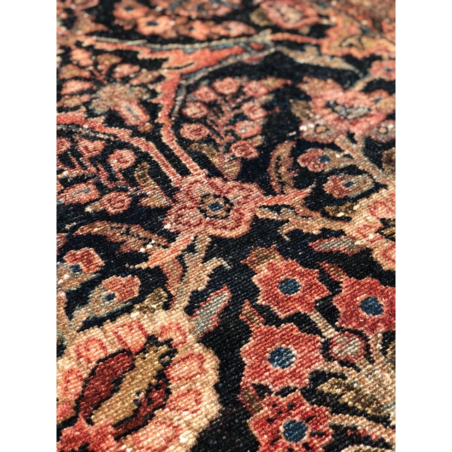 """Textile 1960s Persian Malayer Wool Runner - 3'5""""x19'4"""" For Sale - Image 7 of 13"""