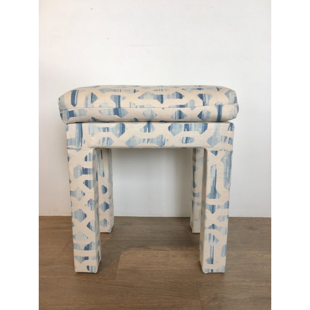Contemporary Parsons Console & Bench For Sale - Image 3 of 8