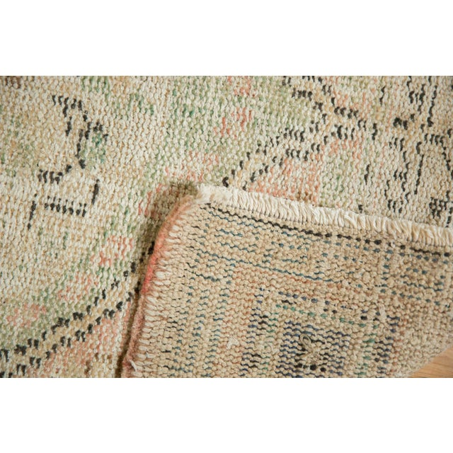 """Old New House Vintage Distressed Oushak Rug Runner - 2'8"""" X 4'9"""" For Sale - Image 4 of 9"""