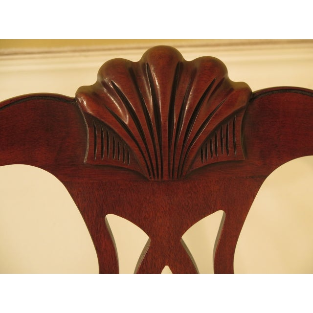 43475e Henkel Harris #112 Ball & Claw Mahogany Dining Room Chairs - Set of 8 For Sale In Philadelphia - Image 6 of 11
