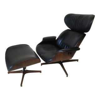 """""""Mr. Chair """" George Mulhauser Lounge Chair and Ottoman by Plycraft For Sale"""