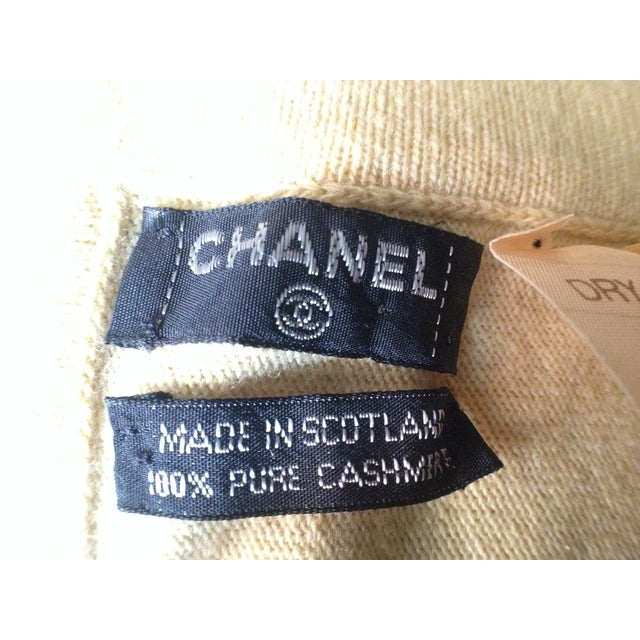Vintage Chanel Cashmere Throw - Image 2 of 5