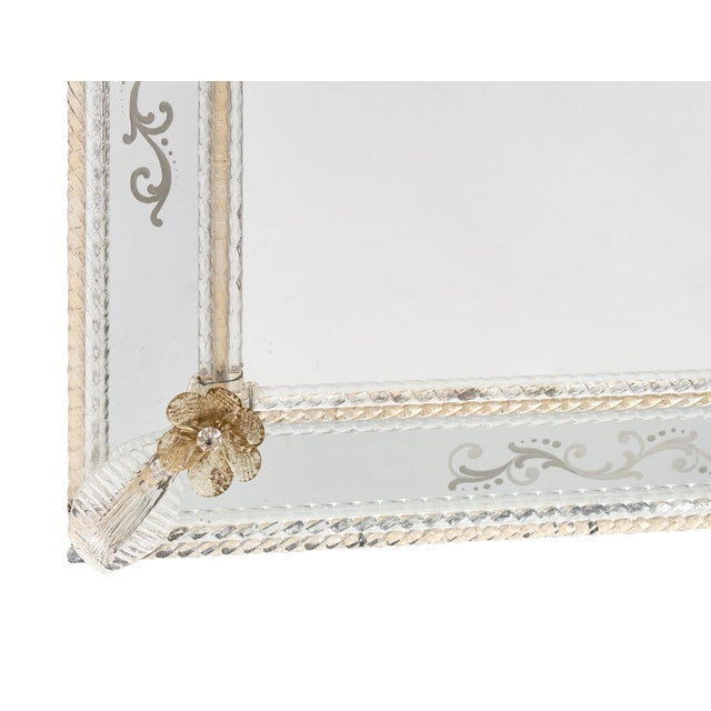 Antique Venetian Mirror For Sale - Image 9 of 10