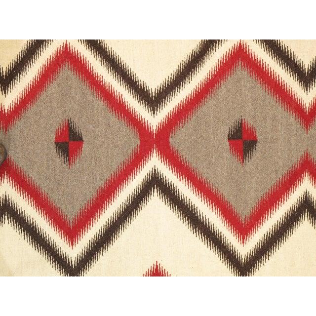 "Navajo Decorative Hand-Woven Rug - 5'1"" X 6'11"" - Image 2 of 3"