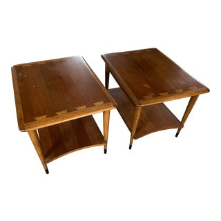 Lane Furniture Acclaim Series by Andre Bus Side Tables - A Pair For Sale