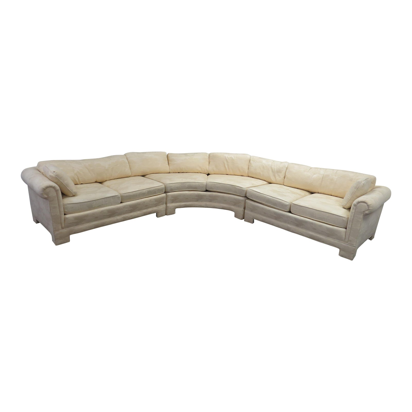 Late 20th Century Vintage Century Furniture L-Shaped Sectional Sofa