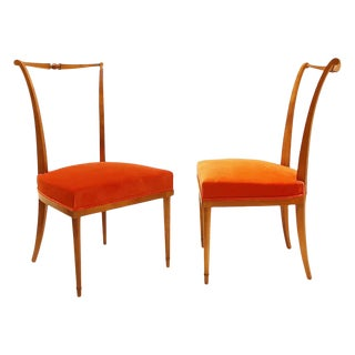 1950s Dining Chairs by Andre Arbus - a Pair For Sale