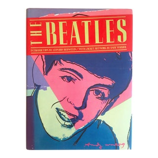 """ the Beatles "" Rare First Edition Vintage 1980 Iconic Andy Warhol Cover Art Collector's Hardcover Book For Sale"