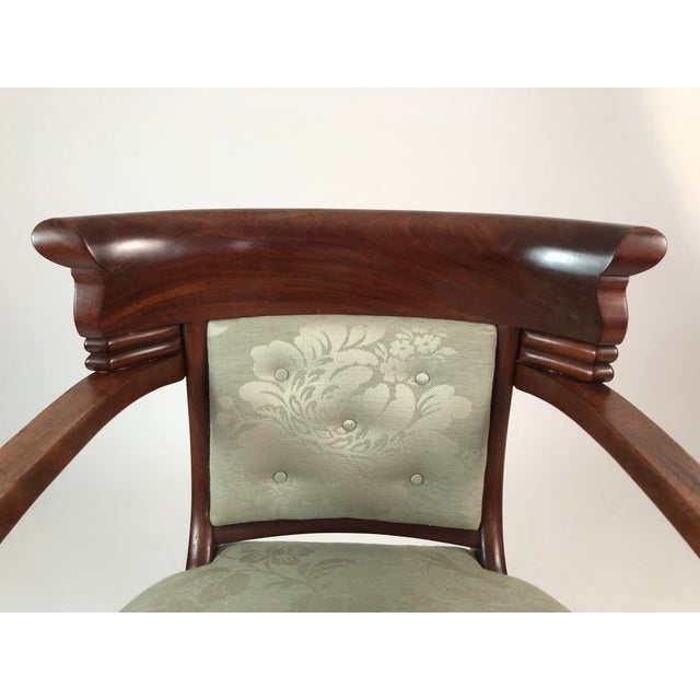 Early 19th Century 19th Century French Empire Neoclassical Armchair For Sale - Image 5 of 11