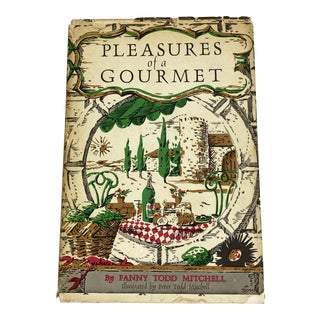"1960s ""Pleasures of a Gourmet"" Cookbook For Sale"