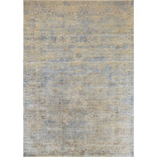 """Mansour Turkish Wool Oushak Rug - 6' X 8'7"""" For Sale"""