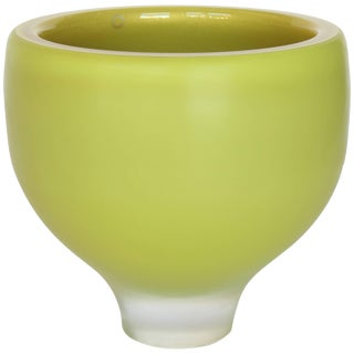 Citreum Murano Glass Vase For Sale