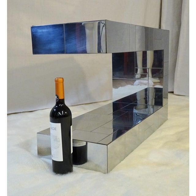 Paul Evans 1970s Mid-Century Modern Paul Evans Cityscape Side Table For Sale - Image 4 of 11