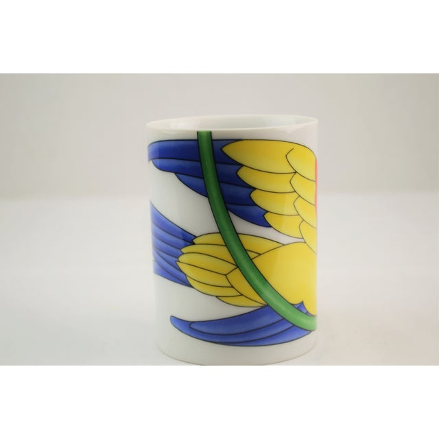 Fitz & Floyd Parrot in Ring Coffee Mug - Set of 4 - Image 5 of 7