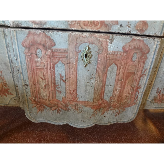 19th Century Italian Painted Commode For Sale In New Orleans - Image 6 of 11