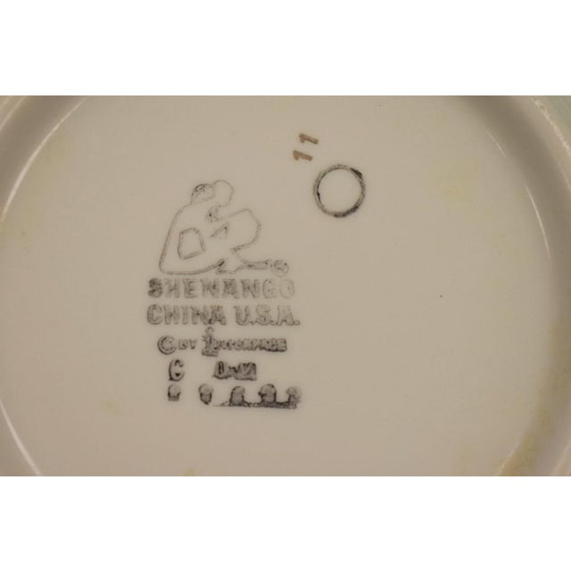 1950s 1950s Vintage Shenango Carlyle Hotel Gilt Soup Bowl For Sale - Image 5 of 6