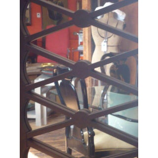 1970s Mid-Century Modern Handsome X Motif Mirrored 3 Panel Screen Preview