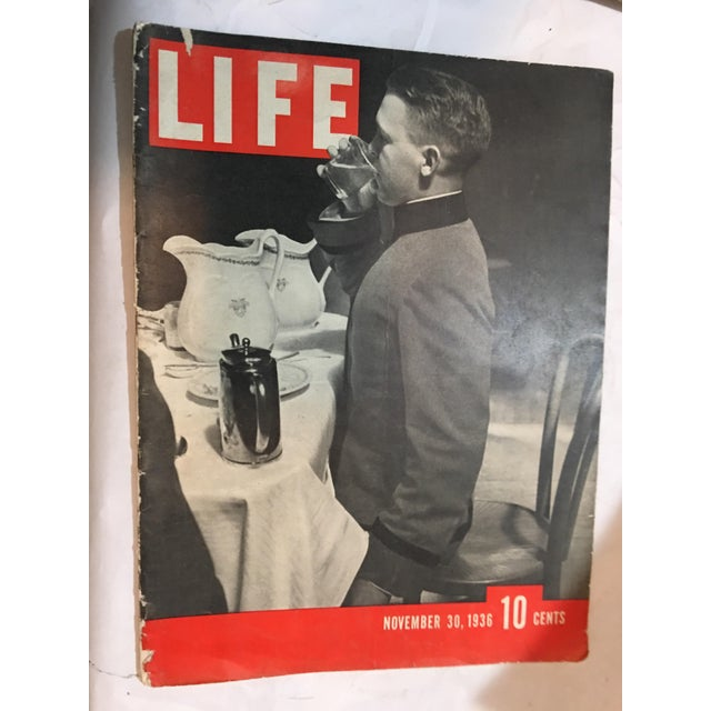 1936 Life Magazine First Historical Issues - Set of 6 - Image 4 of 11