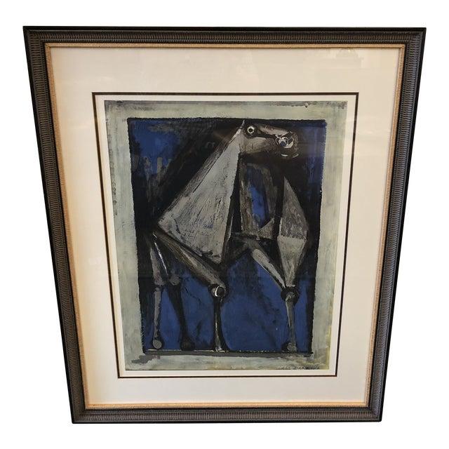 Marino Marini Cavallo 1952 Lithograph For Sale