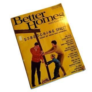 1964 Better Homes & Gardens Decorating Magazine