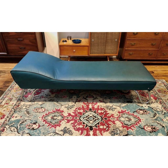 Mid-Century Modern Art Deco Chaise Lounge/Daybed by Kem Weber For Sale - Image 3 of 13