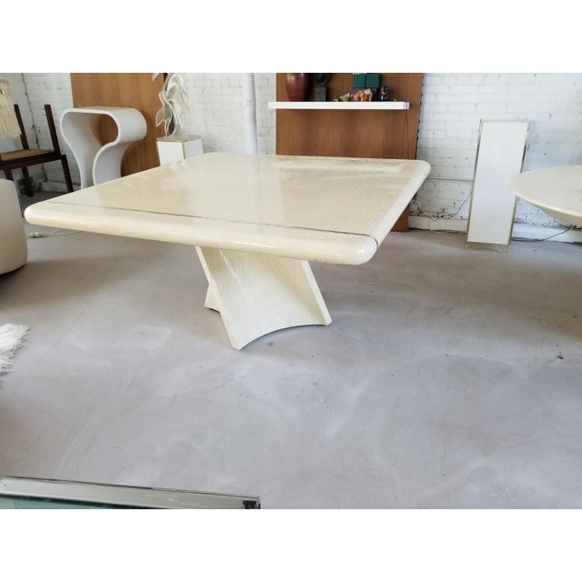 Signed 1980's Enrique Garcel Tessellated Dining Table - Image 5 of 5