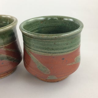 Handthrown Glazed Earthenware Mugs - Set of 4 Preview