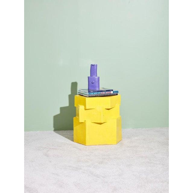 2010s BZippy & Co. Ceramic Side Table For Sale - Image 5 of 6