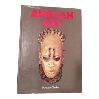 African Art Coffee Table Book For Sale