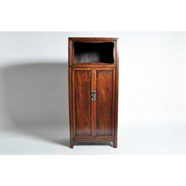Influenced by the uncompromising craftsmanship of traditional Chinese wardrobes and cabinets, this 20th century display...