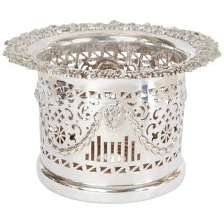 Silver Plate High Wine Coaster
