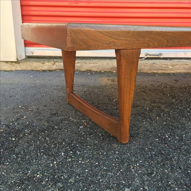 Mid Century Modern Walnut Coffee Table - Image 5 of 10