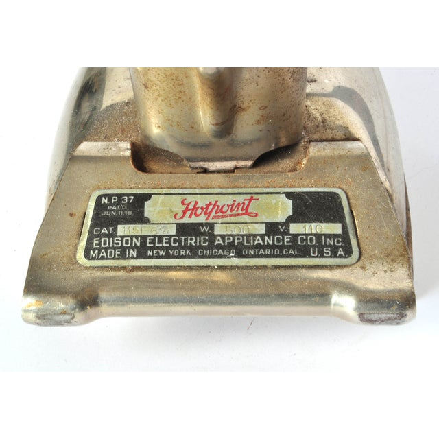 Vintage Hotpoint Iron For Sale - Image 4 of 4