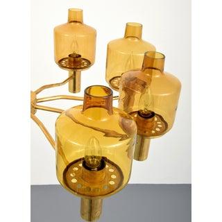 Large Vintage Hans-Agne Jakobsson 9-Arm Brass Chandelier Preview