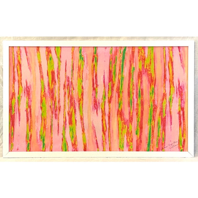 """For your consideration, """"Enlightened Terrain"""" a magical abstract Artist's Print [A/P 2016] Signed by the Artist Alaina..."""