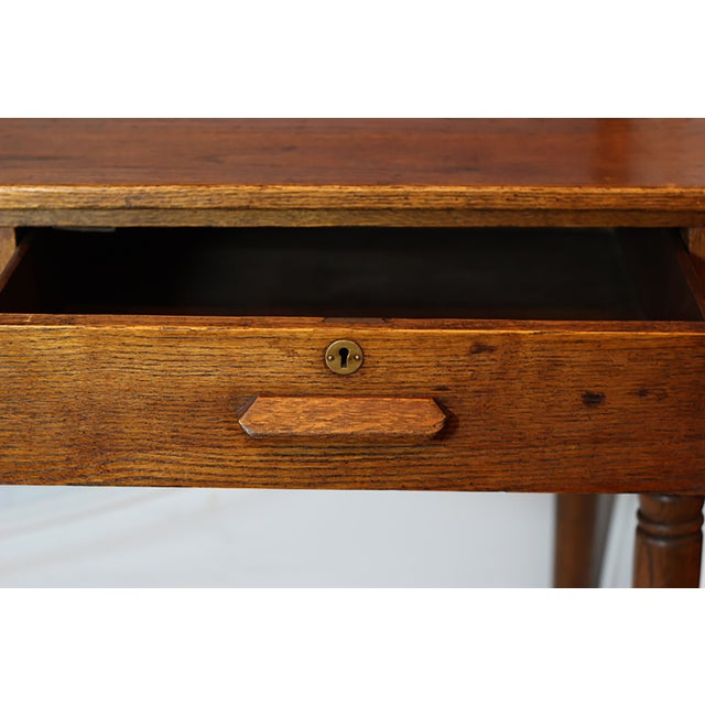 Early 20th Century Monumental Standing Desk - Image 3 of 10