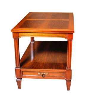 William Berkey End Table With Drawer